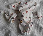 unisex angel babies burial clothes 3 piece TEDDIES GALORE born at 22 Weeks
