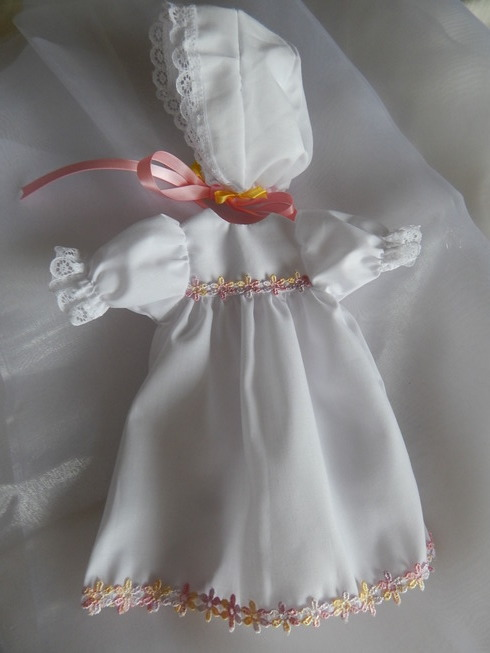 baptism dress for girl baby SHERBET FOUNTAIN 0-1lb
