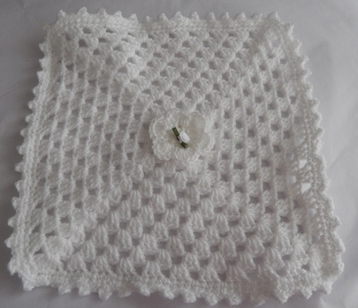 miscarriage tiny baby coffin blanket WHITE rosebud babies burial born 22-23 week