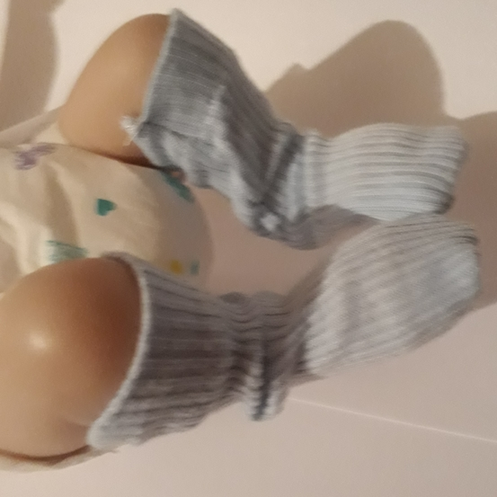 tiny babies burial clothes miscarriage SOCKS in baby blue born 20 weeks