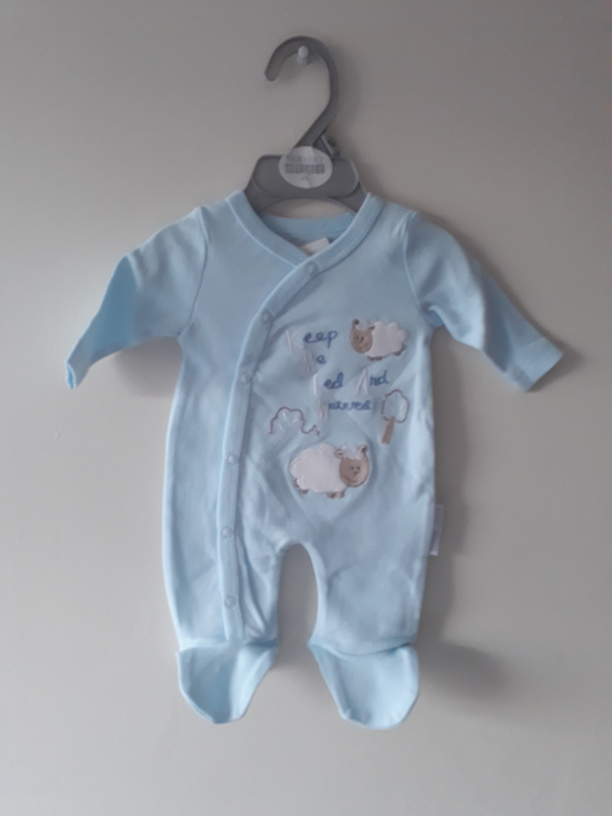stillborn baby clothes blue la la lamb boys 3-5lb premature