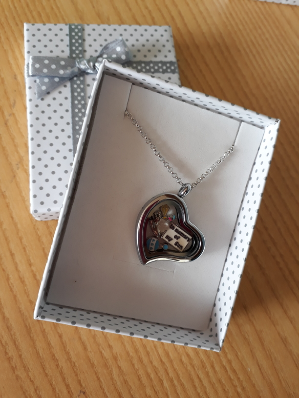 keepsake jewellery Boy memorial gift necklace locket ETERNAL LOVE