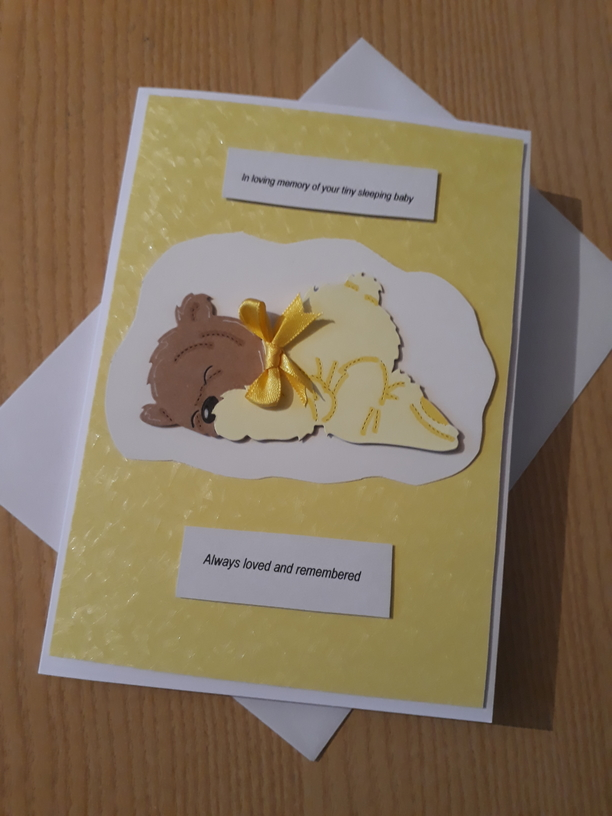card baby loss bereavement cards here LOVING MEMORY UNISEX miscarriage