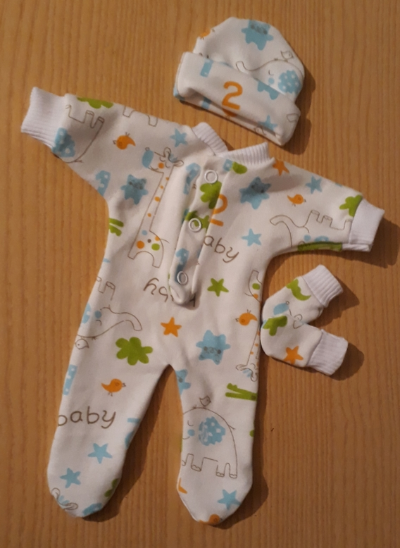 infant boys stillborn baby clothes burial service JUNGALOO born 20-24 weeks