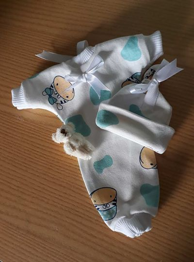 boys stillborn baby clothes for burial service born at 20 weeks SWEET DREAMS