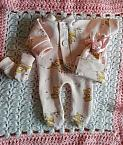 stillborn baby clothes burial born 20 weeks BAMBI BABES pink