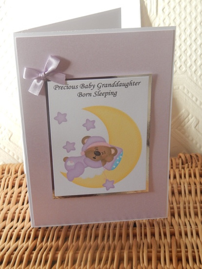 #lil sns c baby burial funeral cards babies SHIMMER N SHINE girls sympathy card