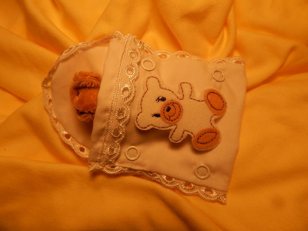 baby burial pouches white fetal demise pouch 1st trimester miscarriage 0-12 weeks