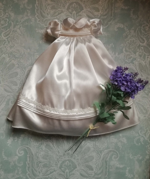 Beautiful Angel baby gowns in uk ecru PRINCESS LILY born at 24-25 weeks