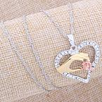 baby loss babies memorial necklace HAND TO HOLD pendant