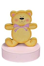 Premature baby urn burial Tiny baby urn uk for baby loss Mini PINK TEDDY