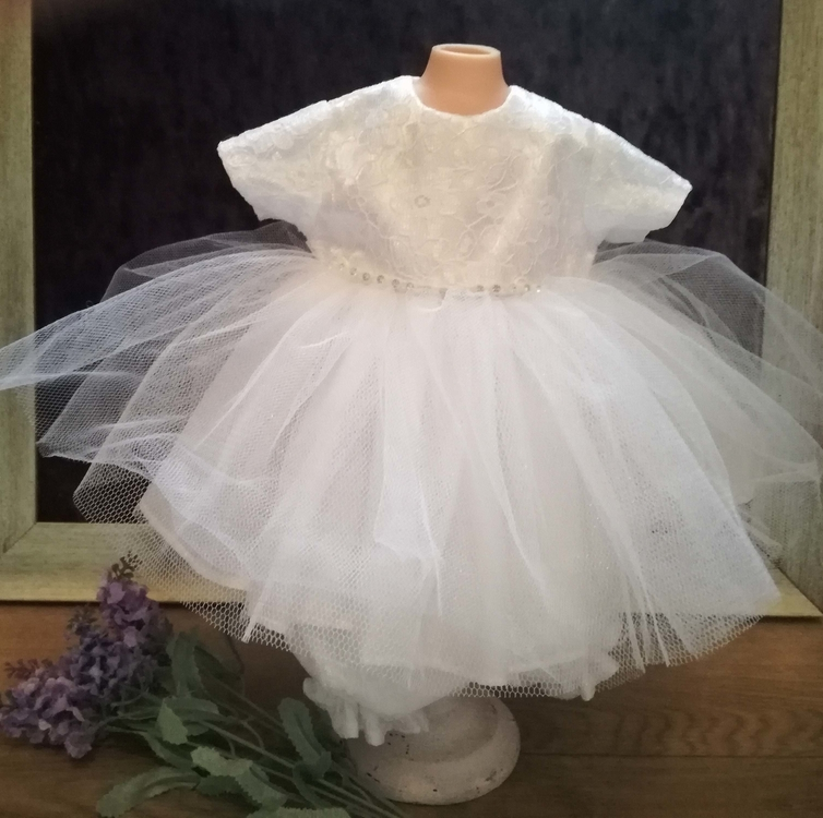 Angel Baby Gowns Berevament dress PRINCESS SARA born at 24-25 weeks