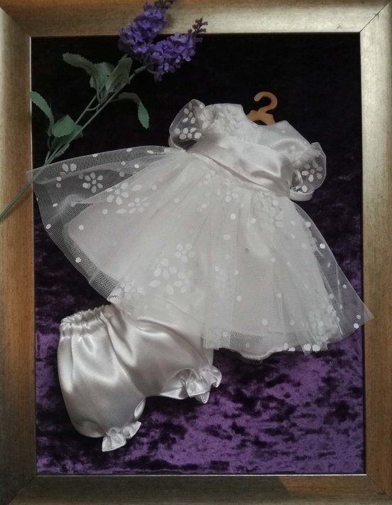 Angel Babies Gowns stunning dress PRINCESS VICKY born at 24-25 weeks