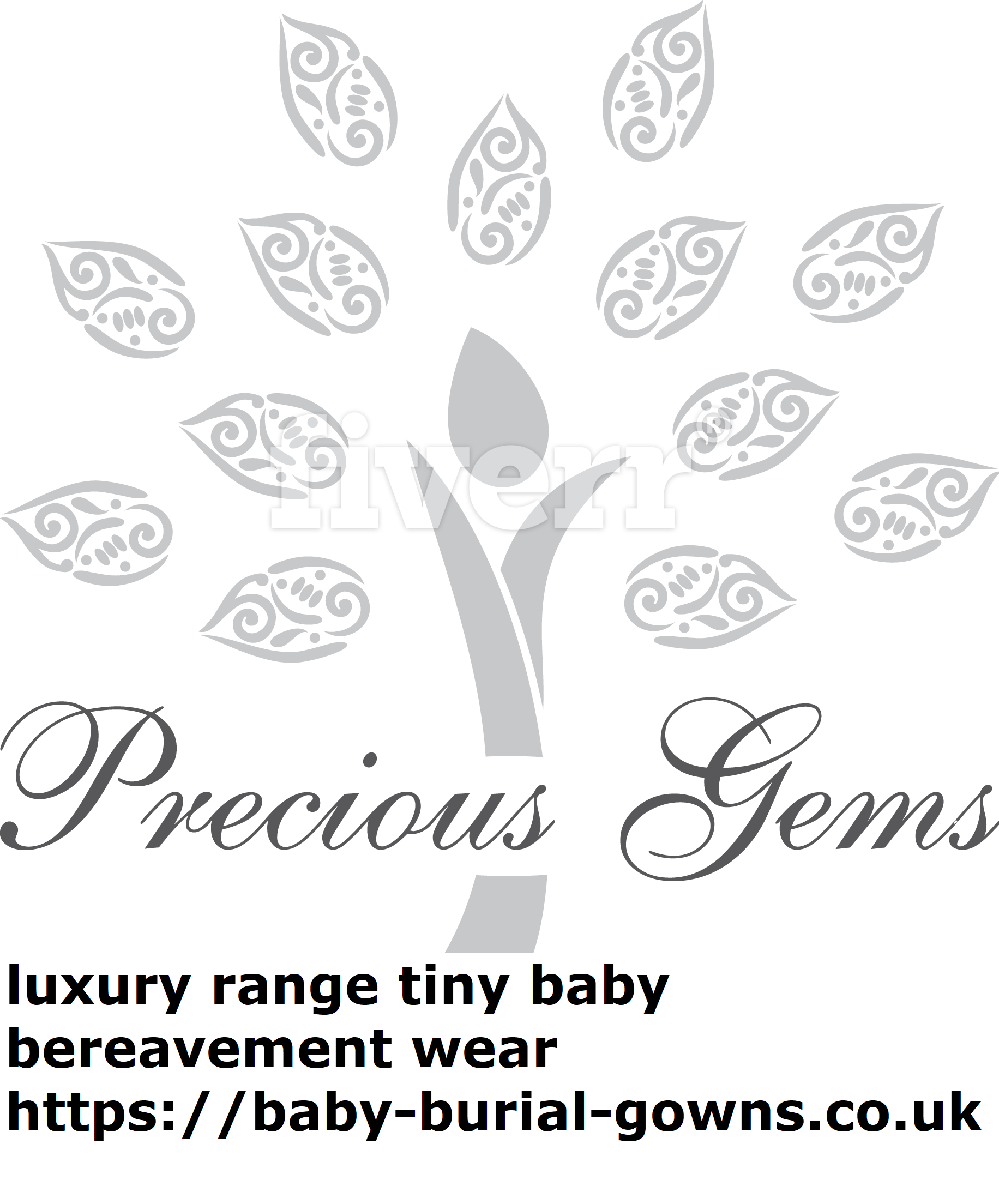 luxury angel babies gowns