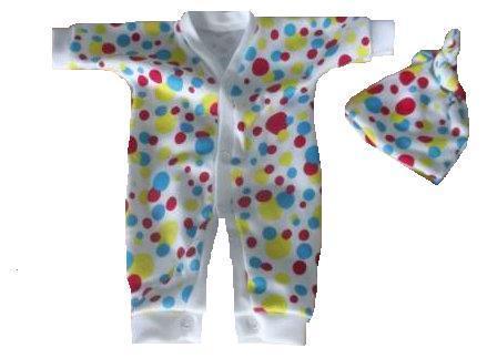 Unisex Premature baby loss Rainbow Drops burial clothes stillborn babies born 20-24 weeks