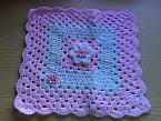 pregnancymiscarriagebaby burial blanket babiescoffin Pink n Whiteborn 23-25 weeks