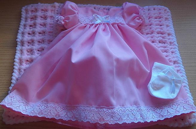premature baby burial dress 3-5lb stillborn babies clothes sold here LOVE DEVINE
