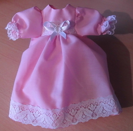 infant burial gown set Pink BUDDING FLOWER 0-1lb baby loss  22-24week