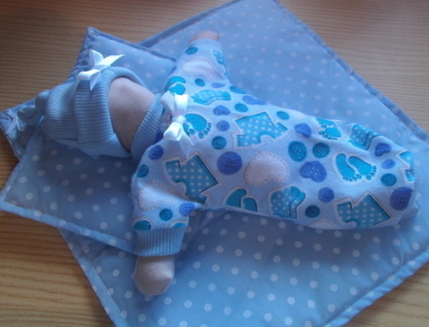 tiny baby burial gowns Blue TOOTSIE TOES born 20 weeks miscarriage