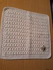 miscarriage Micro baby burial blanket SWEET PURITY White born 22-24 weeks