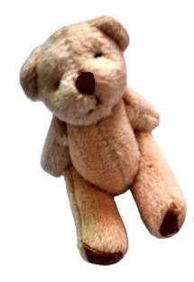 teddies very small for baby funeral keepsake memory box CHICO lightbrown