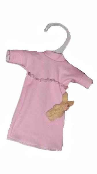 girls baby burial gown tiny baby funeral stillbirth BIRTHDAY GOWN Pink 22-24 weeks