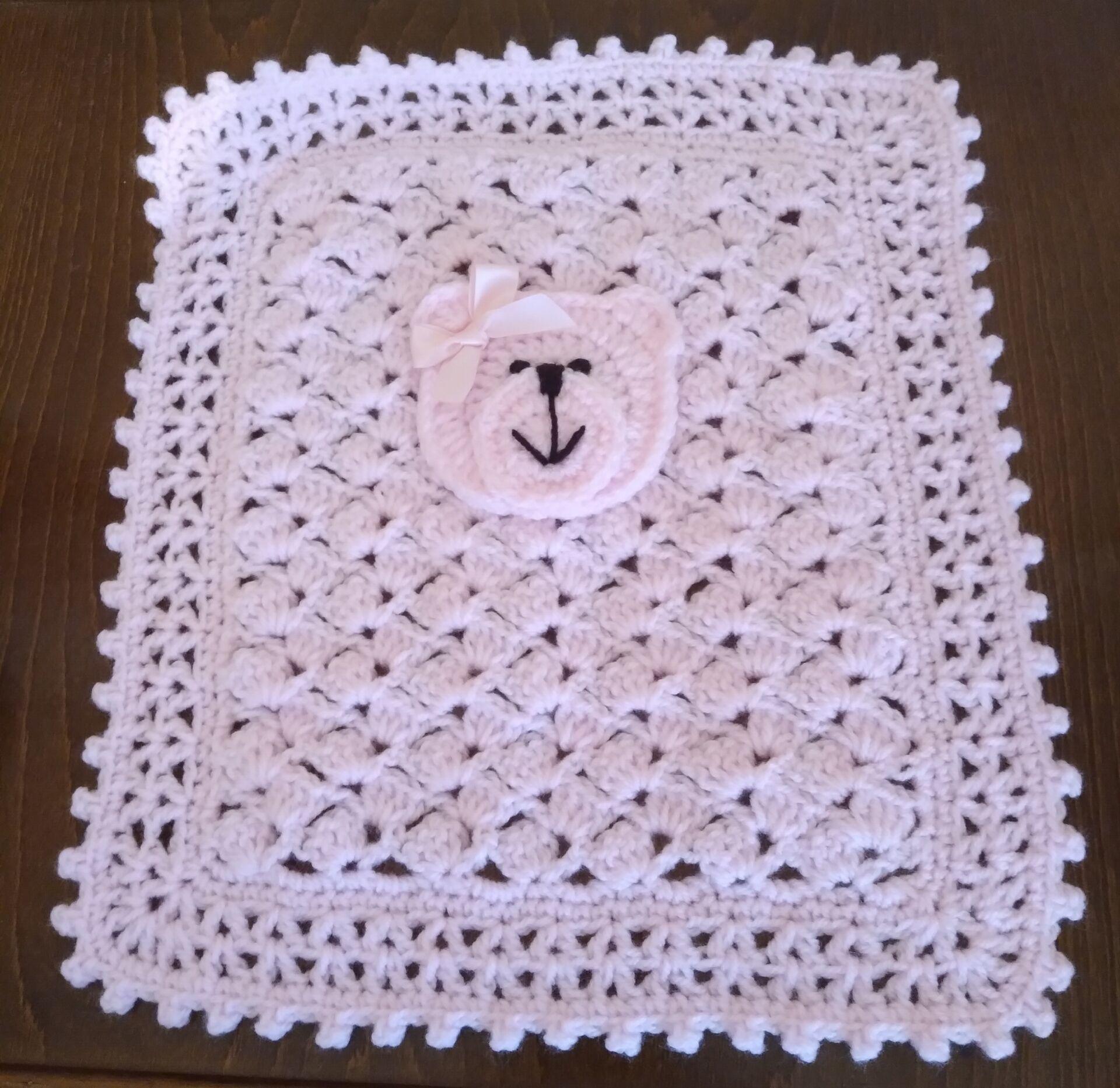 baby blankets smallest crochet burial blanket born at 26 weeks TEDDYLOVE