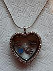 angel baby loss jewellery Boy memorial gift necklace locket ETERNAL LOVE
