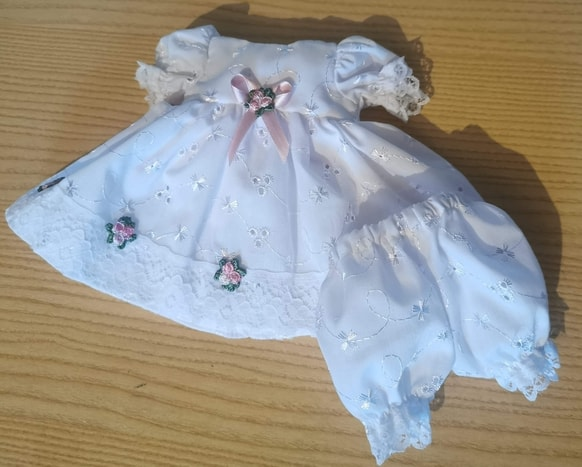 baby burial gowns baptism dress set LITTLE BEAUTY born at 23/24 weeks