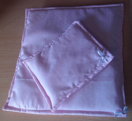 baby loss burial blankets casket funeral QUILT SET Pink born 24 weeks
