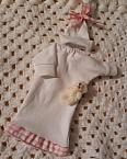baby burial gowns girls tiniest dress LITTLE EMPRESS  born at 20-25 weeks