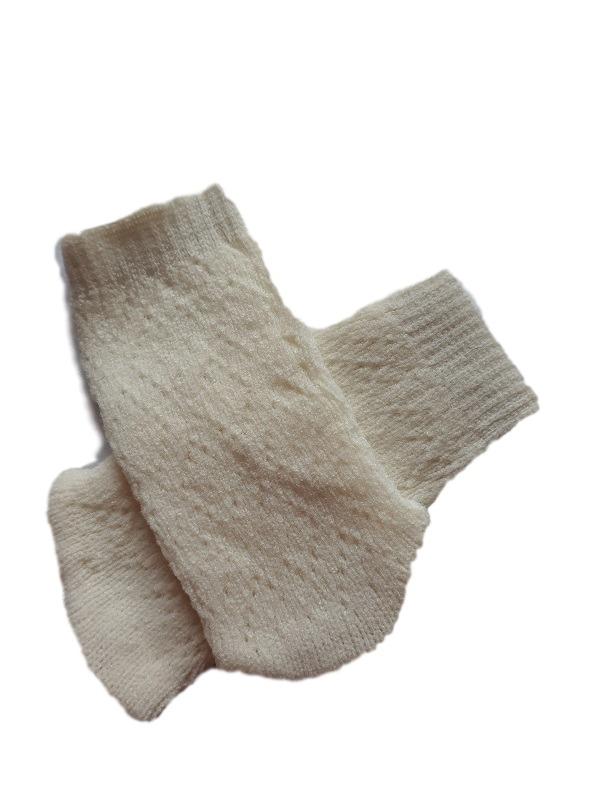 tiny babies miscarriage burial clothes socks NATURAL DIAMOND 1-2LB
