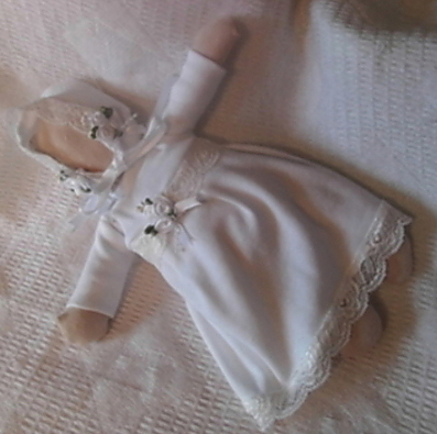tiny baby burial dress set OUR PRINCESS bereavement pregnancy loss all sizes 20-24 weeks