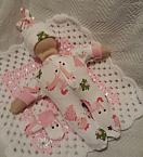 stillborn baby clothes babies burial born 24 weeks FRIENDLY FAIRYTALE pink