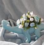 artificial funeral flowers baby graveplot DEENO DINOSAUR Blue