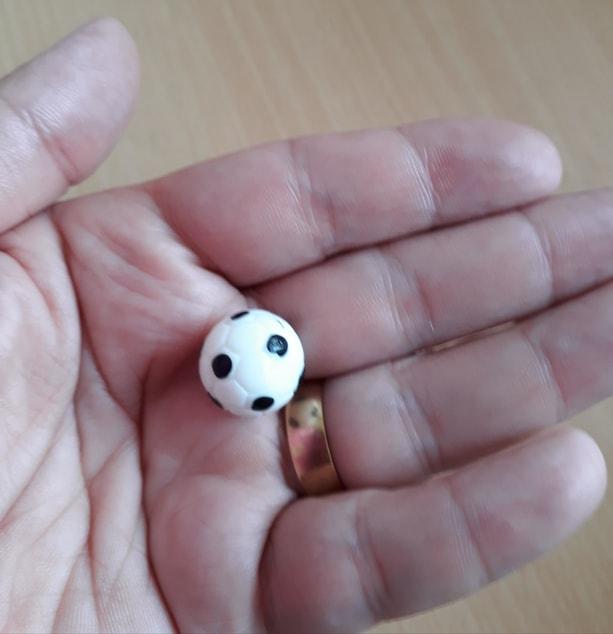 memory box bereavement gift toy football so tiny