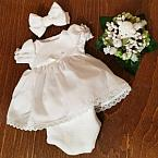 funeral dresses white burial dress baby girl 1lb PRETTY MISS 23-25 weeks