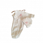 funeral dresses baby burial Pink ted GOODNIGHT SLEEPTIGHT Born at 18-22 weeks