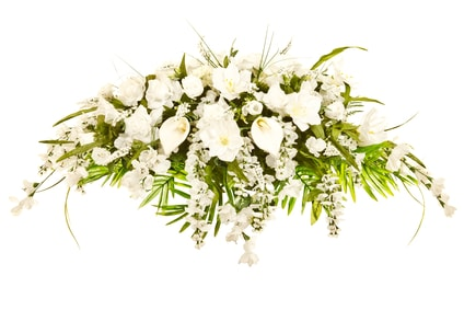funeral for baby flowers spray