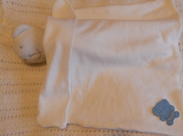 baby funeral casket blanket Blue WELLIEPHANT tiny babies born 22-24 week