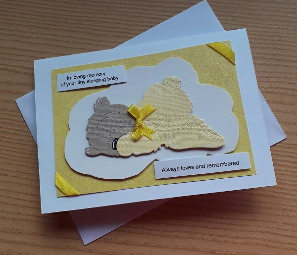 #card u lmem card baby loss bereavement cards here LOVING MEMORY UNISEX miscarriage