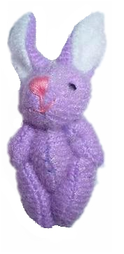 BUNNY Rabbit  LILAC baby keepsake box bears