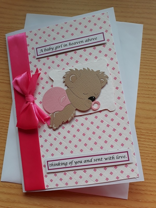 babies sympathy cards miscarriage baby loss condolence LOTS OF LOVE  girls