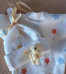 stillborn baby clothes for miscarried babies UNISEX born at 18 - 20 weeks MILKIEBAR STARS