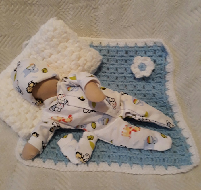 stillbirth babies burial clothes for funeral MONKEYS baby at 22 weeks