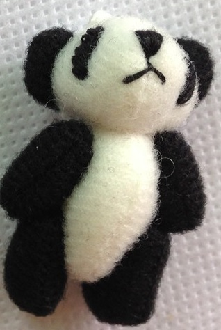 teddies for baby memory box miscarriage PIP the PANDA 4cm