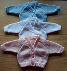 unisex angel babies burial cardigan baby born at 23-25 weeks COCONUT WHITE