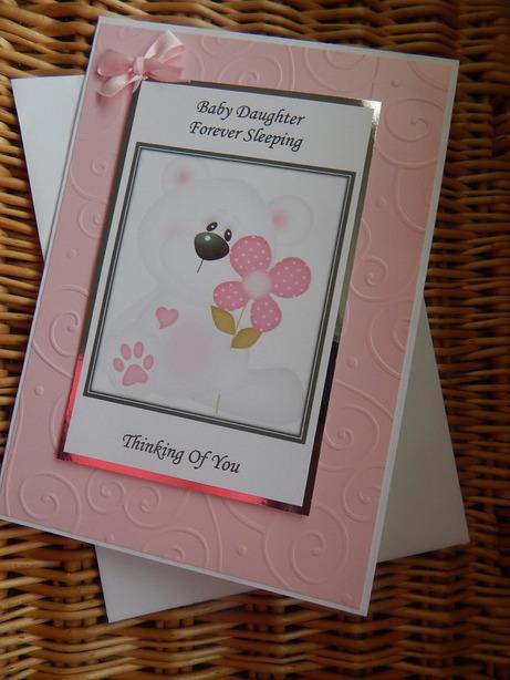 #petalsp babies sympathy card a Daughter baby loss PETALS OF BEAUTY