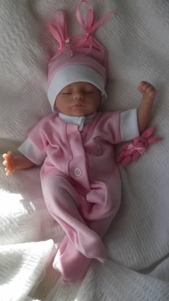 Girls baby burial clothes tiny baby funeral sleepsuit TWEENIE TWINKLE born 22-25 Week