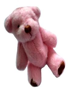 Baby burial little teddy bears PINK funeral teddy bear BITSYBOO Memory box